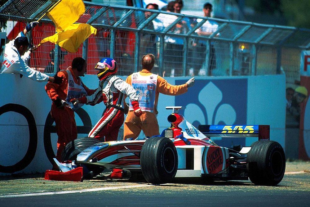 """Há 20 anos, """"nascia"""" o Muro dos Campeões na F1"""