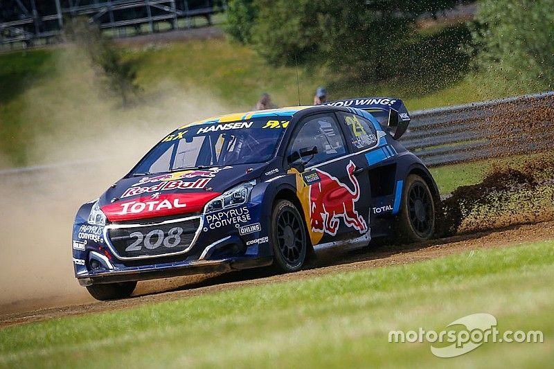 Silverstone World RX: Timmy Hansen wins to take points lead