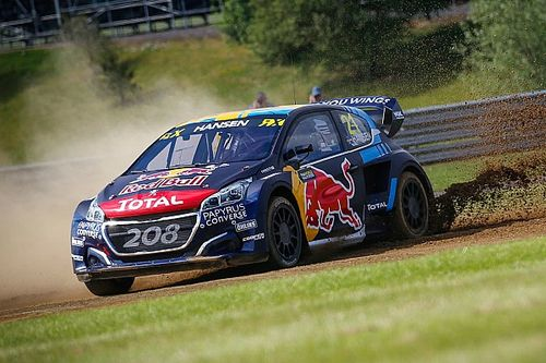 Silverstone World RX: Timmy Hansen wins to take points lead