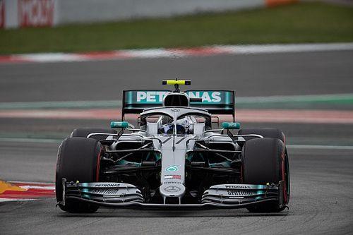 西班牙大奖赛排位赛:博塔斯以0.6秒优势战胜汉密尔顿抢下杆位