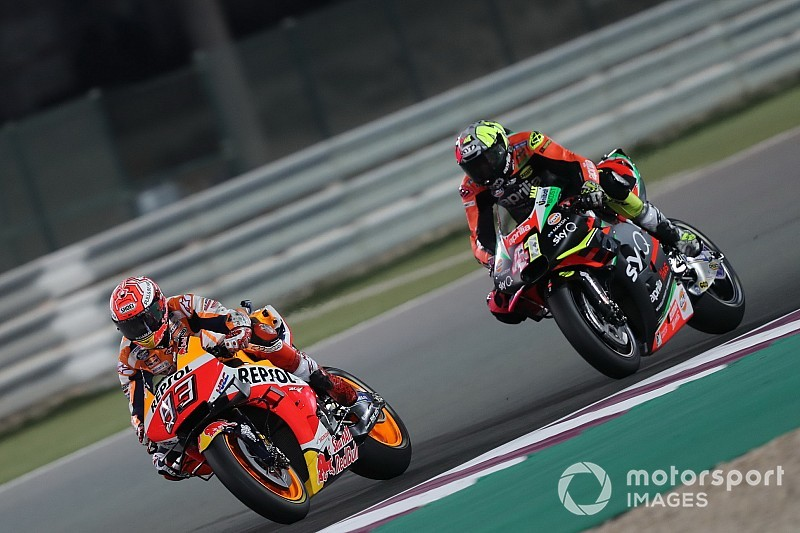Petrucci admits losing Marquez's 'cat and mouse game'