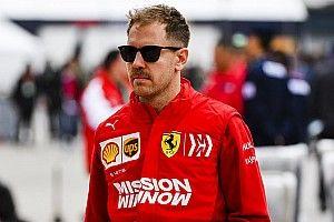"""Vettel: """"L'obiettivo? Stare davanti alle Mercedes. Leclerc? Ha fatto bene a passare in Bahrain"""""""