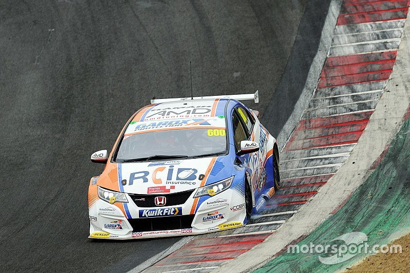 Tordoff breaks lap record in BTCC pre-season test