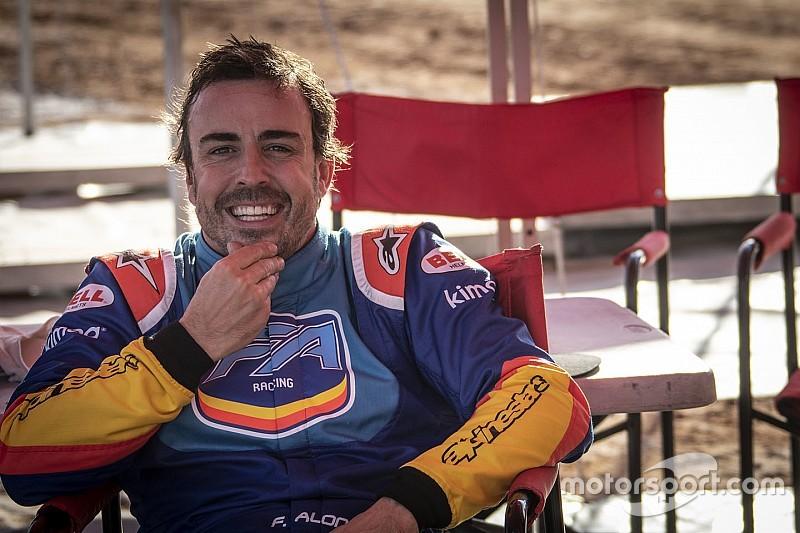 El maratoniano disfrute de Alonso en 12 días