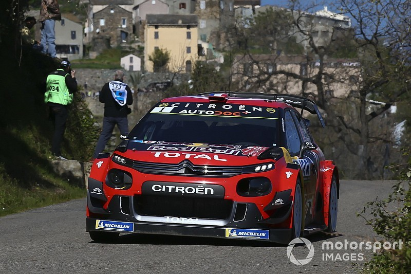 "Ogier: Corsica was a ""real-life test"" for Citroen"