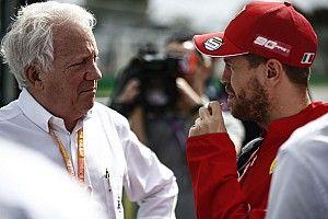 La emotiva carta de Vettel a Charlie Whiting, en nombre de todos los pilotos