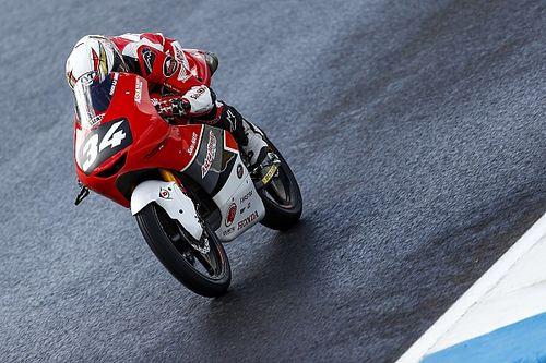 CEV Moto3 Estoril: Tantangan cuaca, Mario start kedelapan