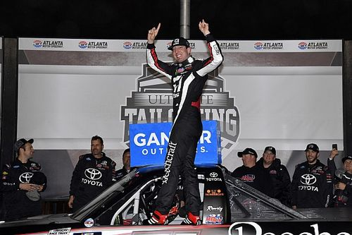 Kyle Busch becomes all-time Truck wins leader at Atlanta