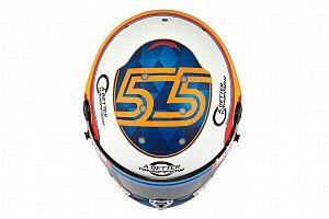 Todos los cascos de Carlos Sainz en la F1