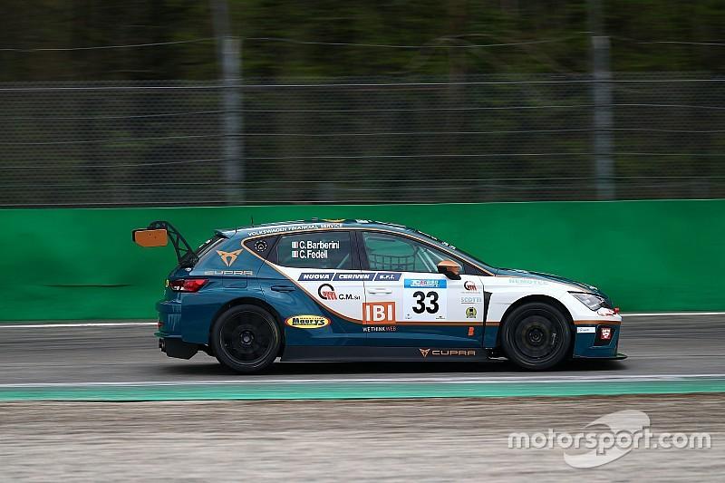 Barberini e Fedeli ancora assieme a Vallelunga nel TCR DSG Endurance