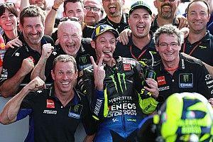 "Rossi: ""Piloté como cuando era joven"""