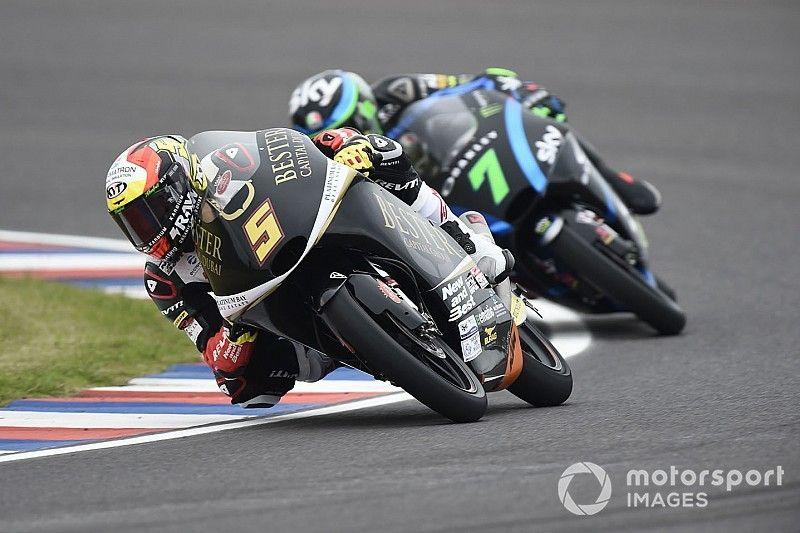 Moto3: prima vittoria per Masia e primo podio per Arbolino in Argentina