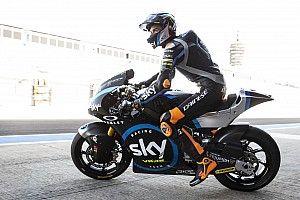 Moto2, Termas de Rio Hondo, Libere 1: Marini parte con il piede giusto