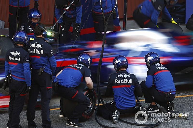 A Toro Rosso-Honda vezeti a negyedik tesztnapot a Renault és a Mercedes előtt