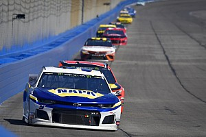 NASCAR weekend schedule at Fontana
