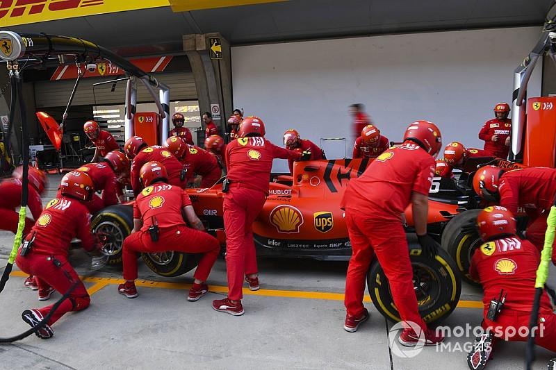 Ferrari поставила пилотам второй блок управляющей электроники – из двух разрешенных на сезон