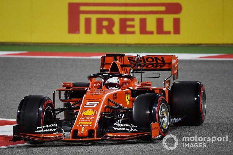 Vettel aveva rallentato per aver spiattellato le gomme: la prima fila è salva