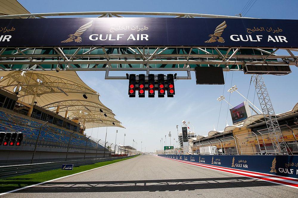La FIA instala un nuevo juego de luces para la salida del GP de Bahrein