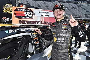 NASCAR Touring Notebook: Sam Mayer gets historic win at Bristol