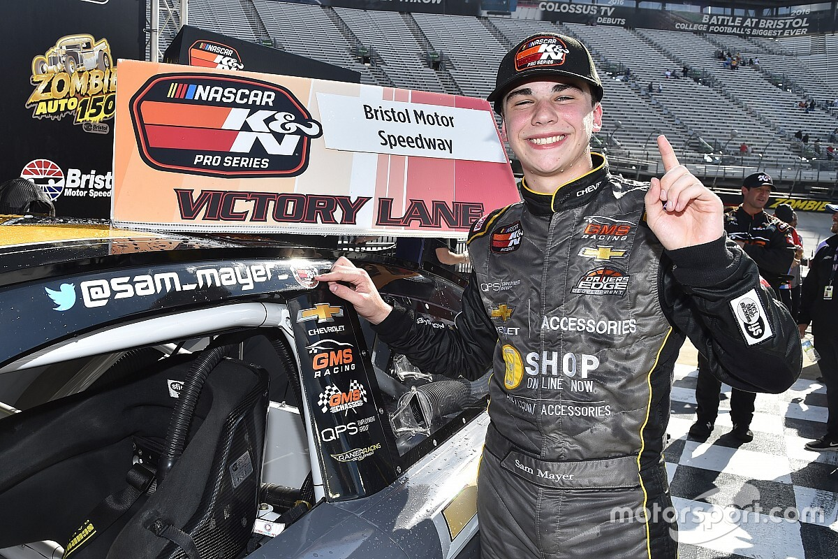 Sam Mayer to rejoin JR Motorsports in 2021 for Xfinity ride