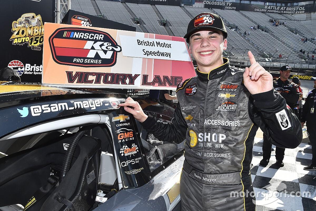 NASCAR Touring Notebook: Sam Mayer gets historic win at Bristol