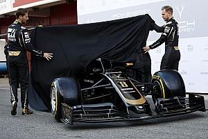 Haas presenteert nieuwe F1-auto op eerste testdag in Barcelona