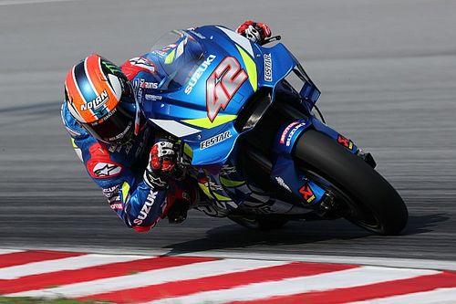 Rins, Suzuki'nin eski lastiklerle performansından cesaret aldı