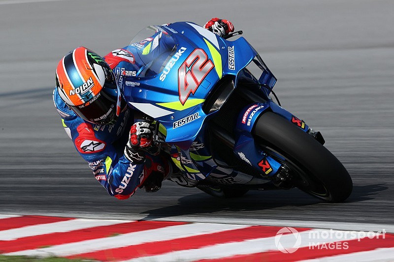"""Rins boosted by """"incredible"""" Suzuki pace on used tyres"""
