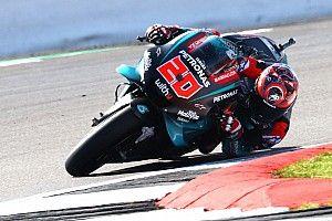 Test MotoGP Misano: Quartararo davanti a Rossi alla pausa