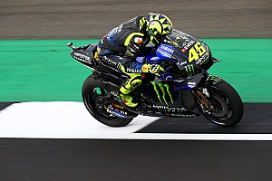 Rossi's front row made sweeter by recent naysaying