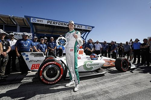 IndyCar Laguna Seca: Herta pakt pole voor seizoensfinale