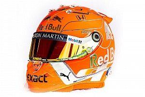 GALERIA: Verstappen usa capacete especial na Bélgica para celebrar 'corrida em casa'