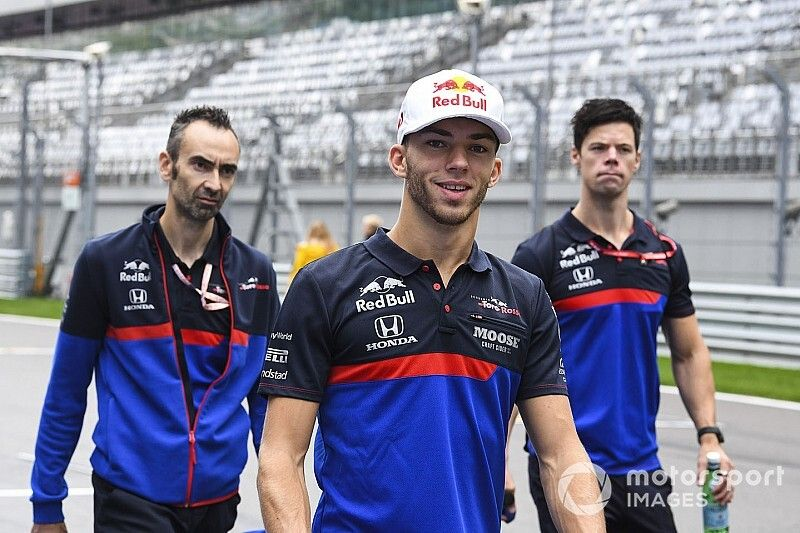 """Gasly giving """"120 percent"""" after Red Bull demotion"""