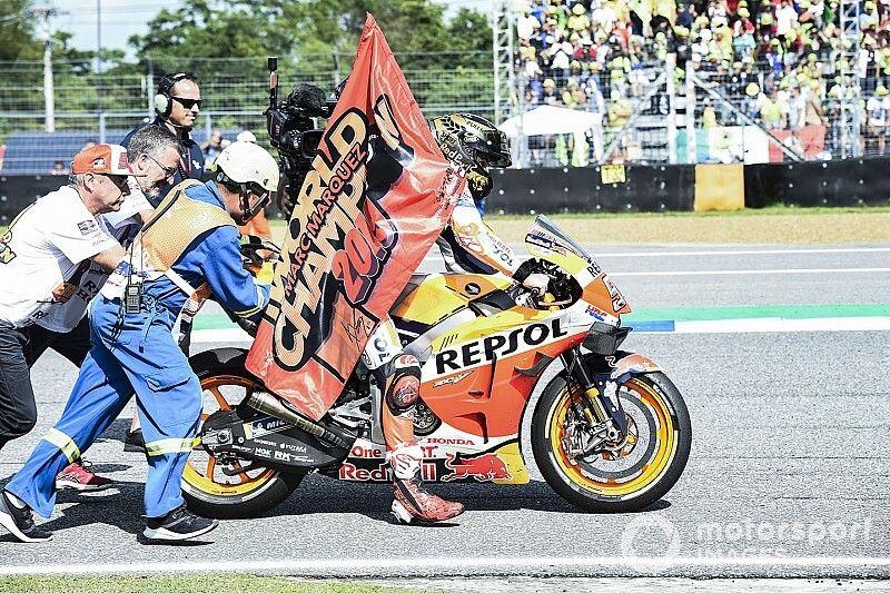 """Hexa, Márquez diz que é """"quase impossível"""" superar Giacomo Agostini"""