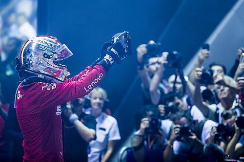 Лучшие фото Гран При Сингапура: воскресенье