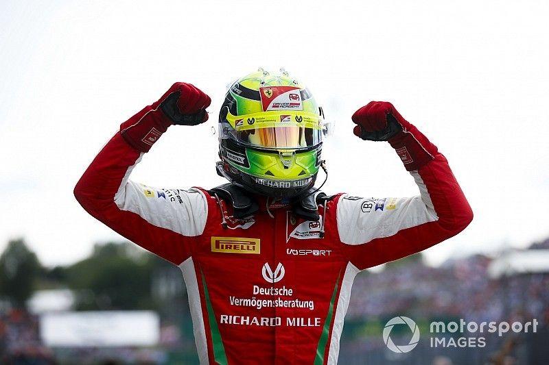 Première victoire en F2 pour Mick Schumacher!