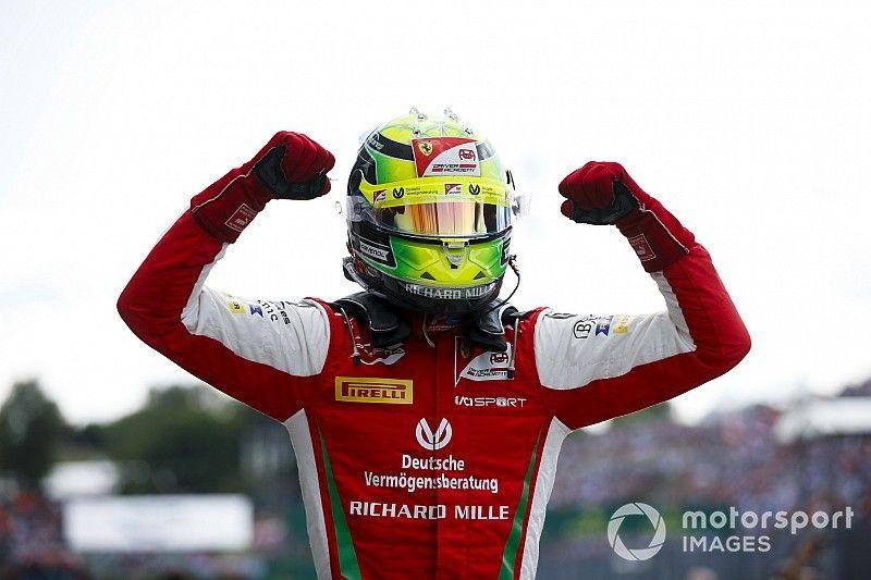 Schumacher: Es una recompensa por tantas oportunidades desafortunadas