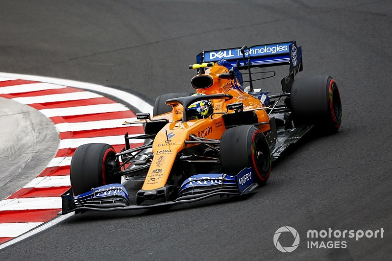 "Norris felt added pressure due to ""insane"" McLaren scale"