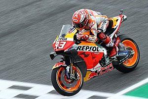 Marquez uit voorzorg naar ziekenhuis na crash in VT1
