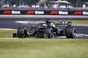 Diaporama : le suisse Romain Grosjean au Grand Prix de Grande-Bretagne