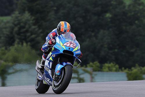 """3 ou 4 km/h, le """"gros progrès"""" qui ravit Rins avec la Suzuki"""