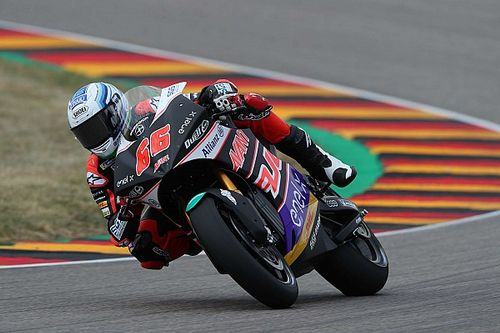 Sachsenring MotoE: Tuuli dominates inaugural qualifying