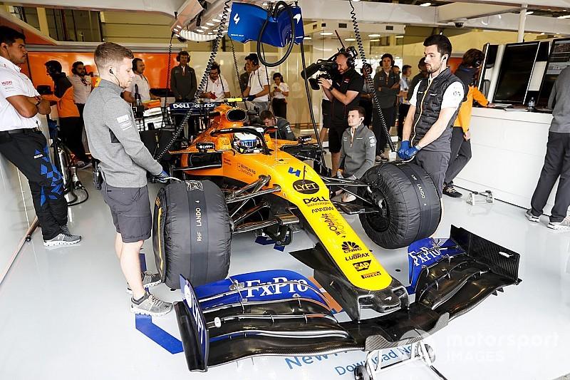 Норрис последним получил обновленный мотор Renault