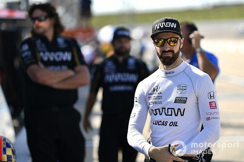 """Hinchcliffe está """"sorprendido"""" que Iowa sea su primer podio de 2019"""