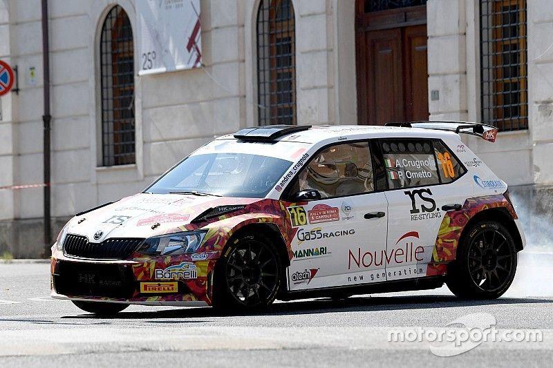 Rally Roma, PS12-13: Crugnola inarrestabile vede il podio, Basso sbaglia
