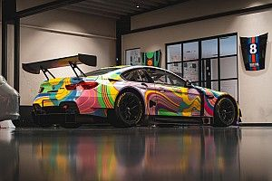 24h di Spa: ecco la BMW Art Car della Boutsen Ginion Racing