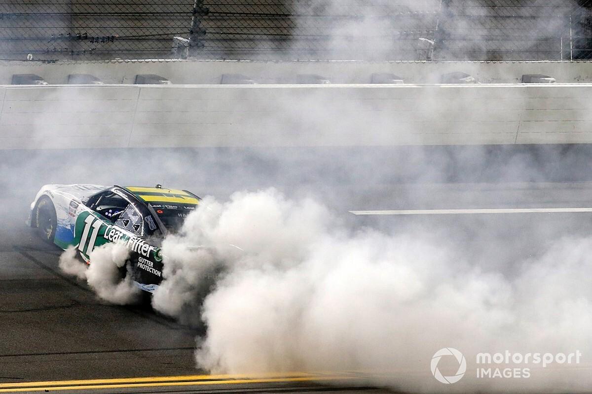 Kaulig teammates wreck while Haley wins Daytona Xfinity race