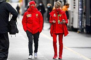 Vettel, con acciones de Aston Martin, su futuro equipo de F1