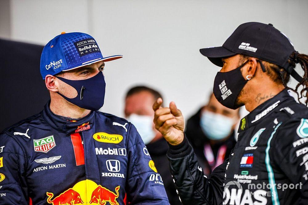 """Verstappen looft Hamilton: """"Schumacher-record leek onhaalbaar"""""""