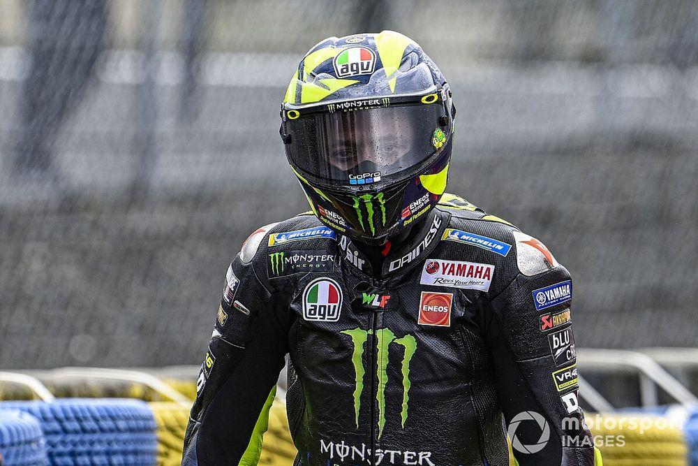 Rossi may race in European GP, pending COVID test